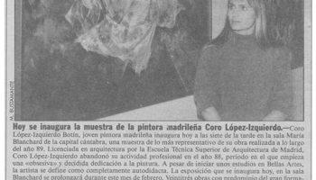1990_Galeria Maria Blanchard, Santander_2