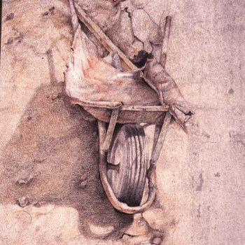 Anatomia de la construccion_carretilla I 46x33 cm 1993