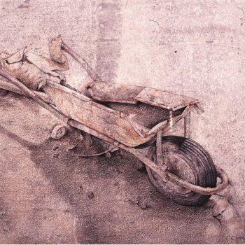 Anatomia de la construccion_carretilla II 33x46 cm 1993