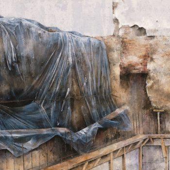 Anatomia de la construccion_en la obra II 100x200cm 1994