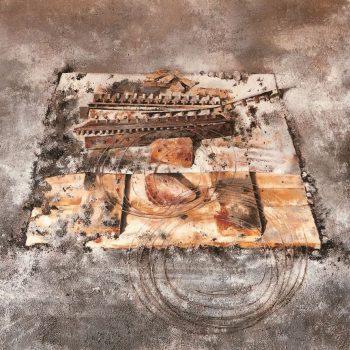 Anatomia de la construccion_fondo de replanteo II 97x146 cm1990