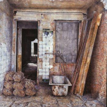 Anatomia de la construccion_fortuny 5 195x162cm 1996.Premio Francisco goya 1996