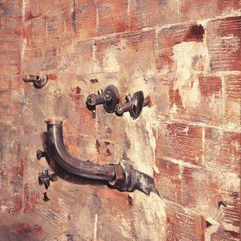 Anatomia de la construccion_grifos 46x33 cm 1991