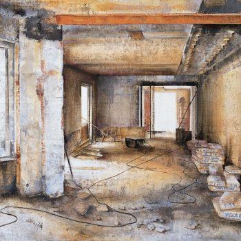 Anatomia de la construccion_interior fortuny 5 1998 81x116cm