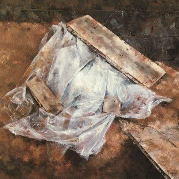 Anatomia de la construccion_plastico II 97x146 cm 1989