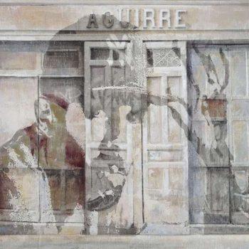 Arte urbano_Boa Mistura en Fontaneria Aguirre. 30x60 cm 2016