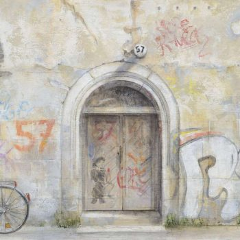 Arte urbano_Graffitis en Berlin I 30x60 cm 2016