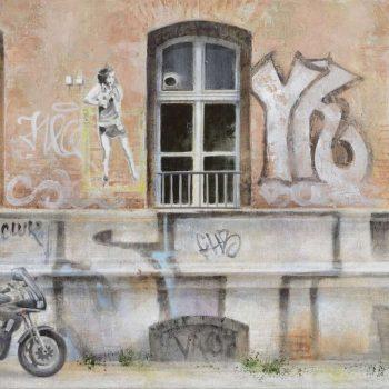 Arte urbano_Graffitis en Berlin II 30x60 cm 2016