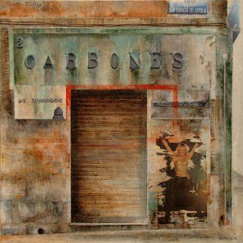 El Paseo_Carbones 60x60 cm 2011