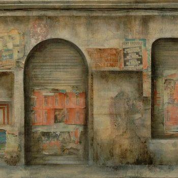 El paseo_C.Infantas 57,5x192 cm 2010
