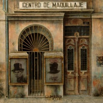 El paseo_Centro de Maquillaje 120x120 cm 2010