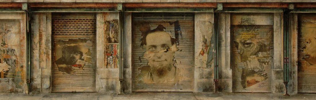 El paseo_Homenaje a Georges Perec 46,5x192 cm 2010