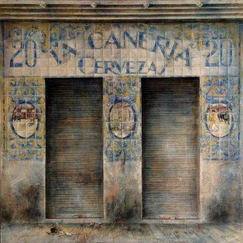 El paseo_La Cañeria 120x120 cm 2010-11