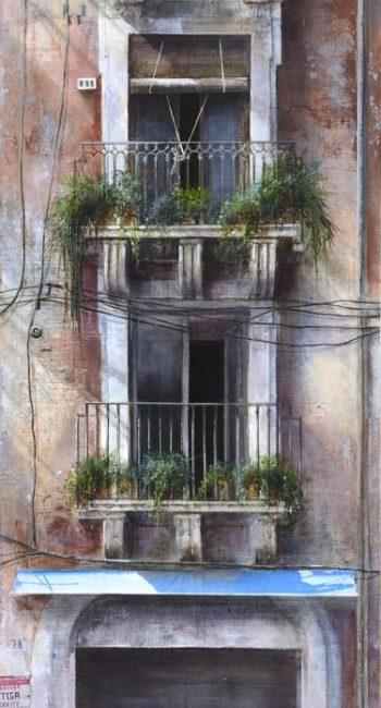 La ciudad transgredida_Catania 1 100x30cm 2013