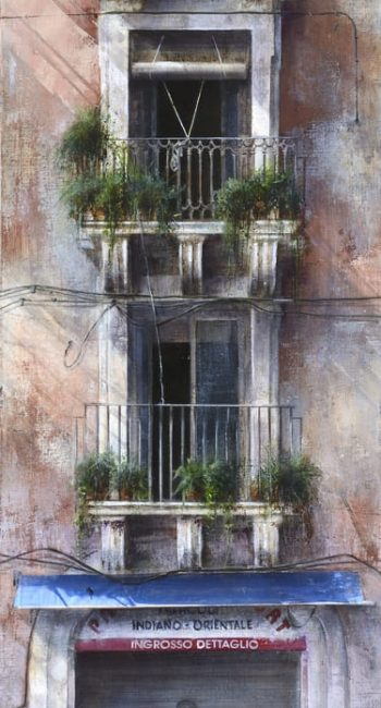 La ciudad transgredida_Catania 2 100x30cm 2013