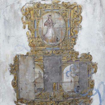 La huella del tiempo. Casa de Indias_Azulejos 2,plaza Isaac Peral.Óleo tabla.46x33 cm (4)