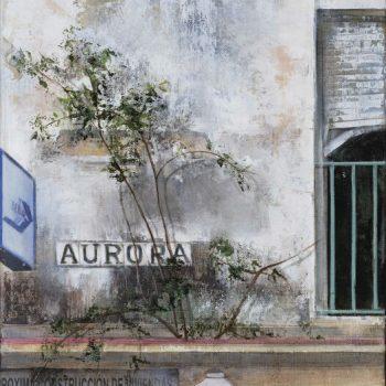La huella del tiempo. Casa de Indias_La Aurora 1.óleo lienzo.41x27 cm (2)