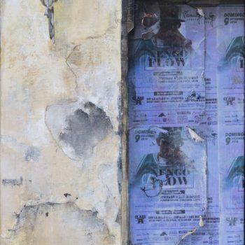La huella del tiempo. Casa de Indias_La Aurora 3.óleo lienzo.41x27 cm