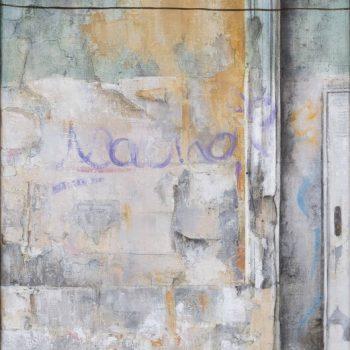 La huella del tiempo. Casa de Indias_Palacio C.Moros 1.óleo lienzo.41x27 cm. 2019