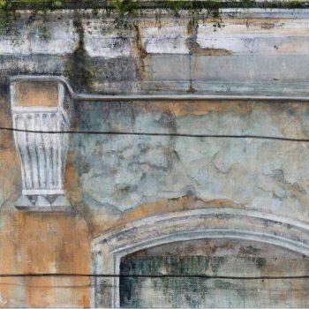 La huella del tiempo. Casa de Indias_Palacio C.Moros 3..óleo lienzo.41x27 cm. 2019 (3)