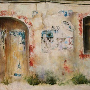 Naturaleza y arquitectura. Muros_Algarve 1 30x60 cm 2008