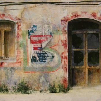 Naturaleza y arquitectura. Muros_Algarve 2 30x60 cm 2008