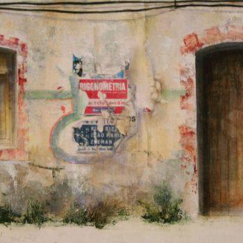 Naturaleza y arquitectura. Muros_Algarve 3 30x60cm 2008
