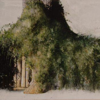Naturaleza y arquitectura. Muros_Huertas 3,30x60 cm 2009