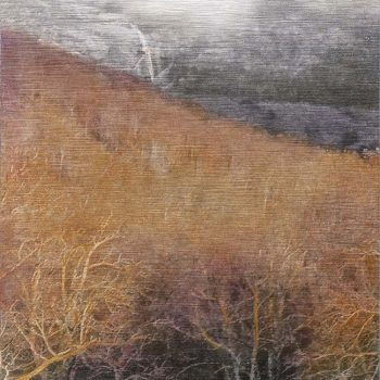 Pocket painting_Chorro 2-IV-2020. 20h32.2020. Oleo foto aluminio