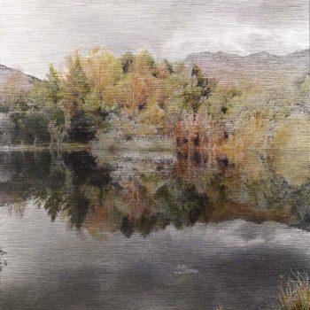 Pocket painting_Pantano II 13-IV-20. 20h20 mn 2. Oleo foto aluminio