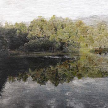 Pocket painting_Pantano derecha III .22-6-20. 21h05mn 3. Oleo fot aluminio