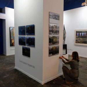 El tiempo en la naturaleza_Feria de Arte Contemporaneo_Estampa 18 (2)