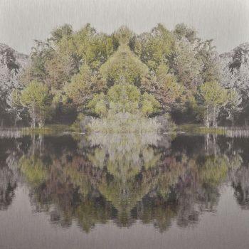 El tiempo en la naturaleza_14 Simetria. Verano , 21-VI-18, 20h22 mn. 30x30 cm