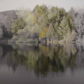 El tiempo en la naturaleza_Esfera.Primavera.27-IV-19.20h34 mn.40x40 cm.